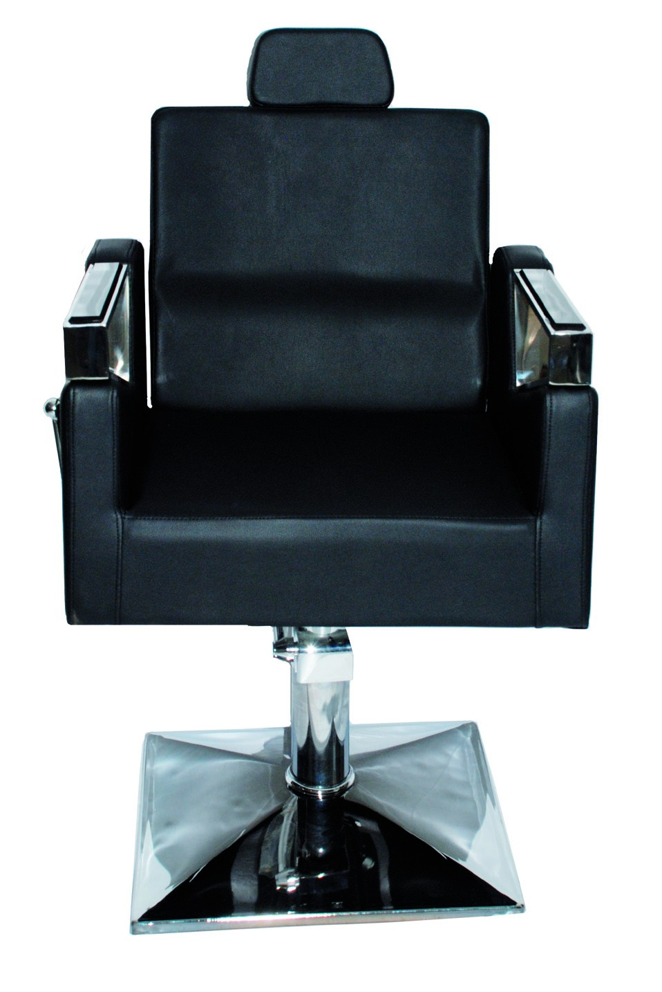 """כיסא גברים -Barber chair דגם 31287. בוכנה גבוהה. אחריות שנתיים על הבוכנה. מחיר לא כולל מע""""מ ולא כולל הובלה."""