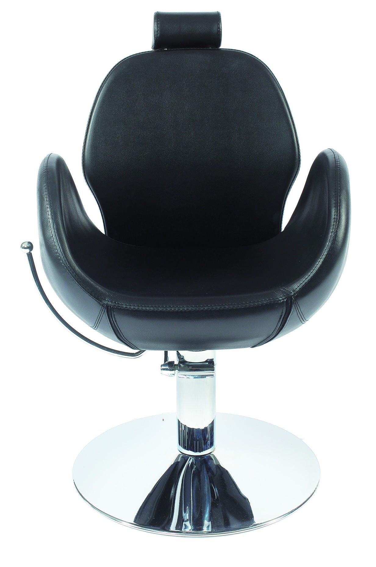 """כיסא לקוח הידראולי דגם 6225 צבע שחור. בוכנה גבוהה. אחריות שנתיים על הבוכנה. מחיר לא כולל מע""""מ ולא כולל הובלה."""