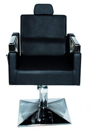 כסא הידראולי שחור