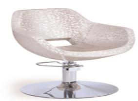 כסא הידראולי למספרות, דגם 8825